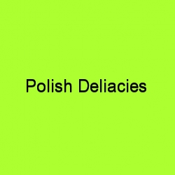 Polish delicacies title card