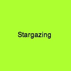 Stargazing title card