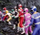 Escape the Lost Galaxy (Power Rangers Lost Galaxy)