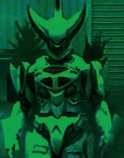 Psycho Green Monster Form (Power Rangers Time Force)