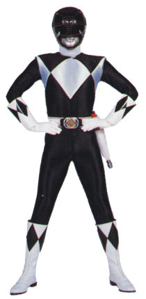 Black Mighty Morphin Power Ranger