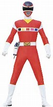 Red In Space Ranger