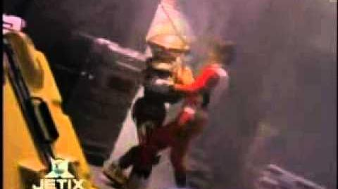 Power Rangers Lost Galaxy - End of the Megaship