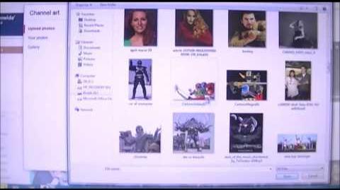 Power Rangers Lost Galaxy (2014 Fan-Film) Featurette - New Channel Layout Design