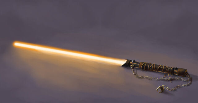 File:Orange Lightsaber.jpg