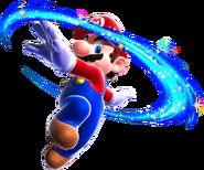 Mario Spin Art - Super Mario Galaxy