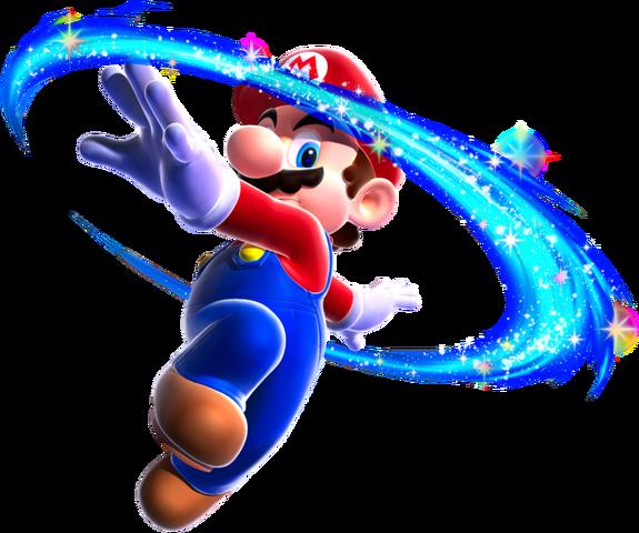File:Mario Spin Art - Super Mario Galaxy.png