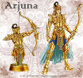The golden armor of arjuna by elangkarosingo-d38oknh