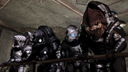 Bunch of krogan, various armors
