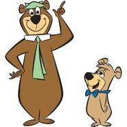 Yogi Bear and Boo Boo Bear