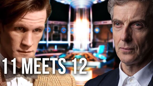 File:Eleventh and Twelfth doctors.jpg