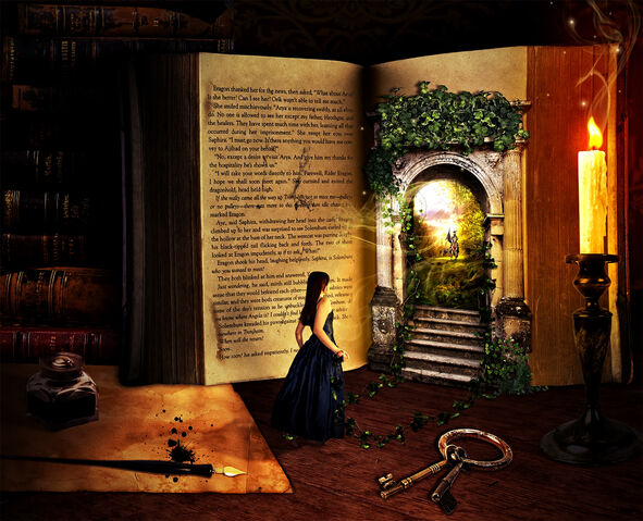 File:The lure of a book by fictionchick.jpg