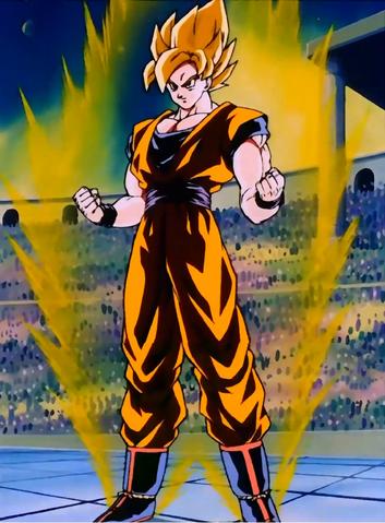 File:Goku Super Saiyan Aura.png