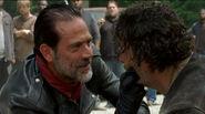 Negan breaks Rick