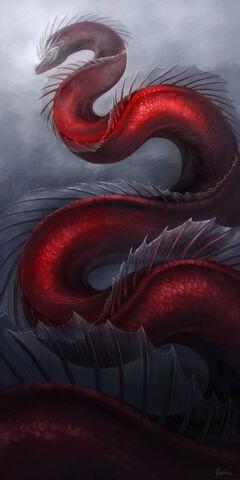 File:The midgard serpent by vyrilien-d491d85.jpg