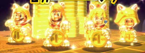 File:SM3DW Lucky Bell Statues.png