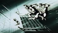 Genkai using Kiai