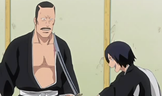 File:Hanatarō wielding Hisagomaru.png