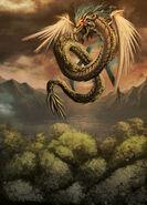 Quetzalcoatl heaven by GENZOMAN