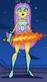 Princess Mandie's Flames