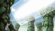 Dust Release- Detachment of the Primitive World Technique - Pillar
