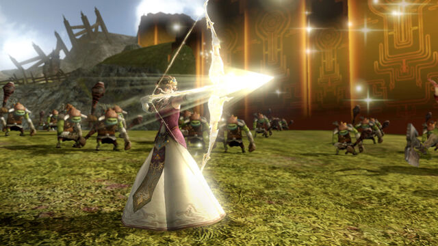 File:HW Zelda Light Arrow.jpg