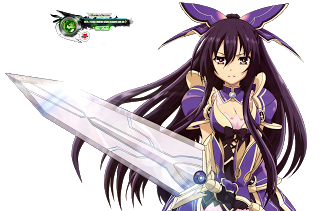 File:Yatogami Tohka AW Battle HD Render.png