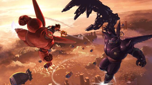 File:Sora and Baymax Dark Baymax.jpg