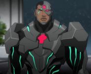 Cyborg DC Movie Animated