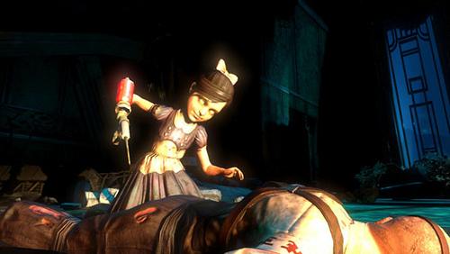 File:Little sister with syringe.jpg