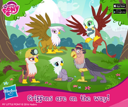 Griffins in My Little Pony Friendship is Magic