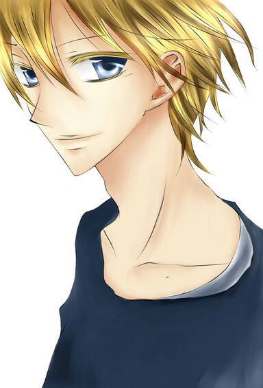 Yosuke blond by thaisrbento-d5nwhrd