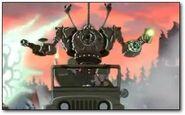 Iron Giant Attack mode