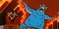 Blue Cyclops Monster