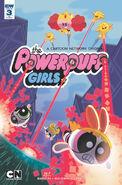 Powerpuff Girls (2016) issue 3 cover RI