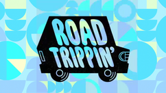 Road Trippin' Title Card