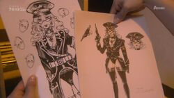 Aoi villain sketches