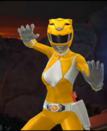 Legacy Wars Mighty Morphin Yellow Ranger Victory Pose