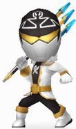 Silver Super Megaforce Rangers In Power Rangers Dash