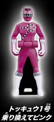 ToQ 1 Pink Ranger Key