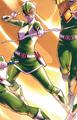 MMPR Pink Green Ranger
