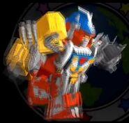 Drivemax Megazord in Power Rangers Dash