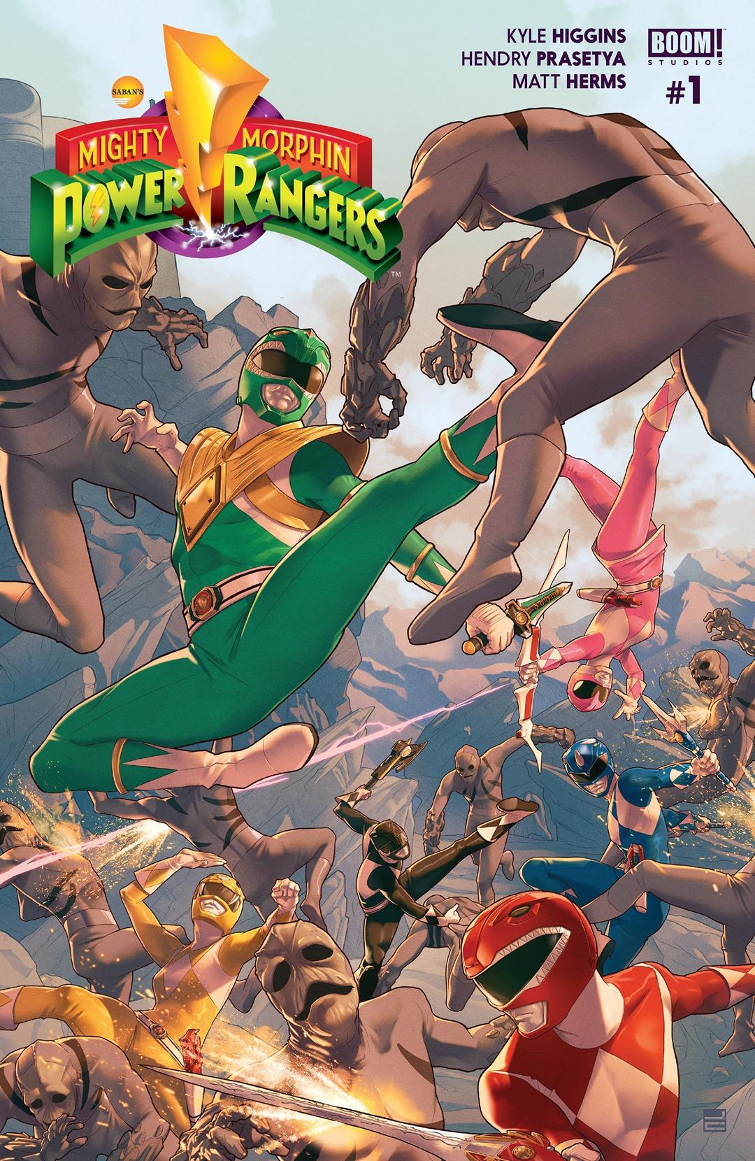 mighty morphin power rangers boom studios issue 1