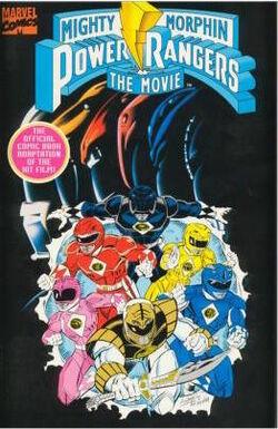 Mighty Morphin Movie Marvel comic