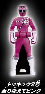 ToQ 2 Pink Ranger Key