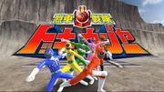 Ressha Sentai ToQger in Super Sentai Legend Wars