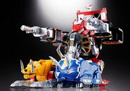 Soul of Chogokin Megazord Tank Mode 1