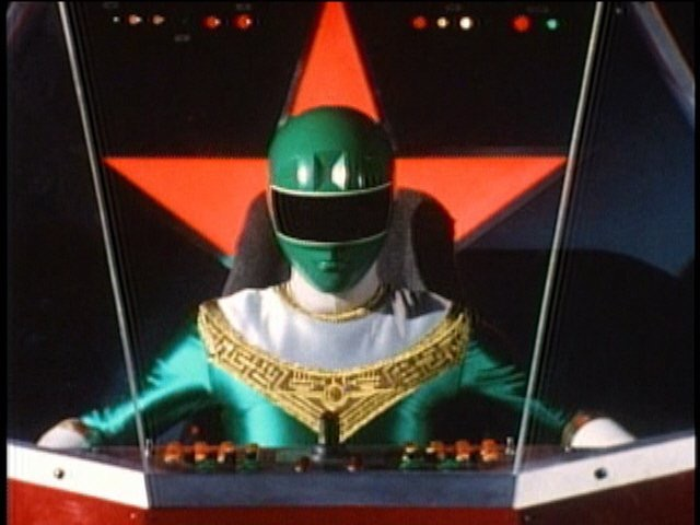 File:Red Battlezord Cockpit with Green Ranger.jpeg