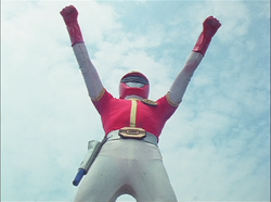 DynaRed Gaoranger vs. Super Sentai