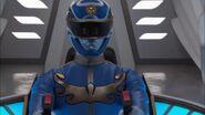 Gosei Blue cockpit